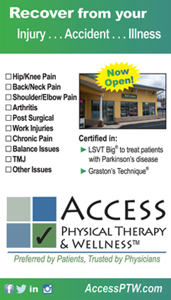 Access Physical Therapy ad