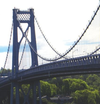 Mid Hudson Suspension Bridge