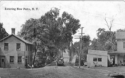 Wallkill River bridge at the west end of Main Street, New Paltz