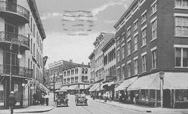 Kingston: The Strand down by the Rondout.