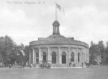 Kingston: Kingston Post Office, circa 1910, demolished to make way for a fast food restaurant.