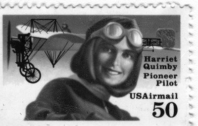 Harriet Quimby stamp