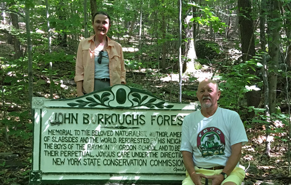 Rochester Hollow John Burroughs' memorial