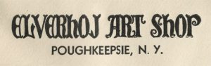 Envelope logo for the above–mentioned shop in Poughkeepsie