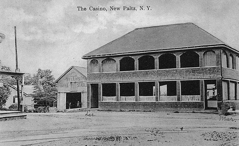 The Casino, New Paltz, N.Y. postcard