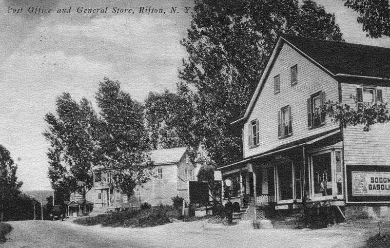 Rifton General Store and Post Office postcard